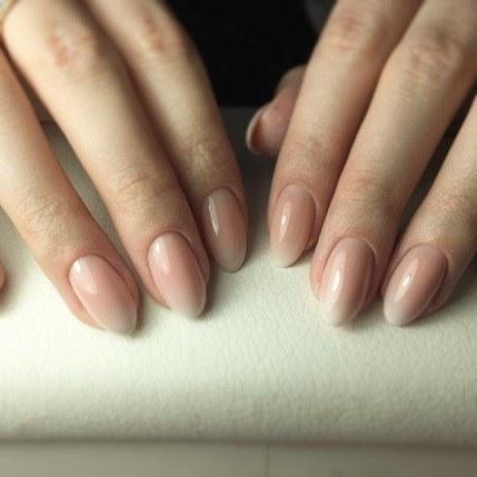 укрепление ногтей гелем фото