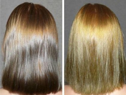 Синхронизация цвета волос