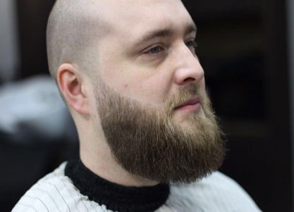 Коррекция усов и бороды
